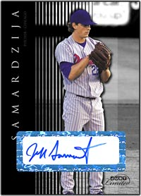 JL07 Black Auto (#'d to 25) Jeff Samardzija
