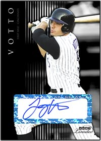 JL07 Black Auto (#'d to 25) Joey Votto