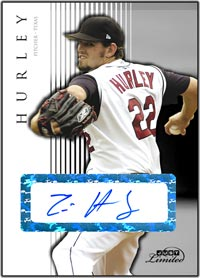 JL07 White Auto (#'d to 10) Eric Hurley