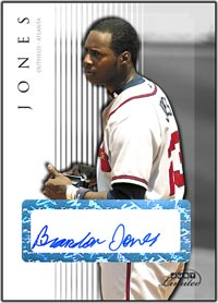 JL07 White Auto (#'d to 10) Brandon Jones