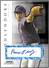 JL07 White Auto (#'d to 10) Ross Ohlendorf