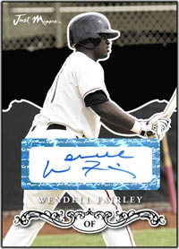 JRP07 Black Auto (#'d to 25) Wendell Fairley
