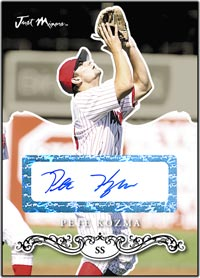 JRP07 Black Auto (#'d to 25) Pete Kozma