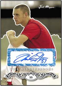 JRP07 Black Auto (#'d to 25) Will Middlebrooks