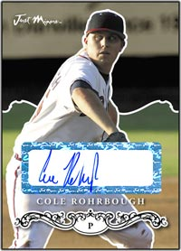 JRP07 Black Auto (#'d to 25) Cole Rohrbough