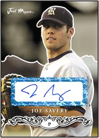JRP07 Black Auto (#'d to 25) Joe Savery