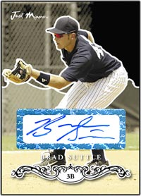JRP07 Black Auto (#'d to 25) Bradley Suttle