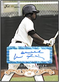 JRP07 White Auto (#'d to 200) Wendell Fairley