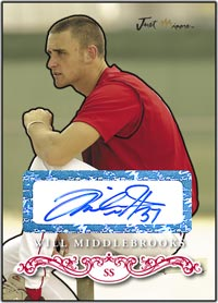 JRP07 White Auto (#'d to 200) Will Middlebrooks