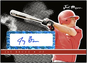 JAP08 Black Auto (#'d to 25) Jay Bruce