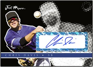 JAP08 Black Auto (#'d to 25) Chris Davis