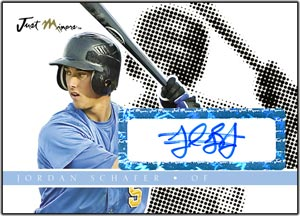 JAP08 Black Auto (#'d to 25) Jordan Schafer