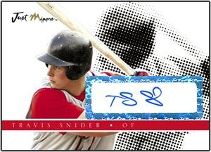 JAP08 Black Auto (#'d to 25) Travis Snider