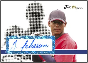 JAP08 Black Auto (#'d to 25) Julio Teheran