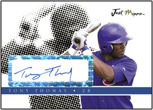 JAP08 Black Auto (#'d to 25) Tony Thomas