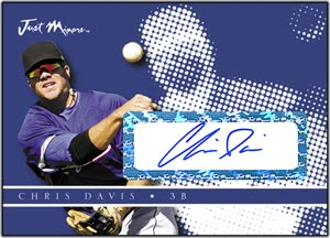 JAP08 White Auto (#'d to 200) Chris Davis
