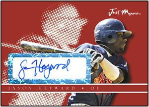 JAP08 White Auto (#'d to 200) Jason Heyward