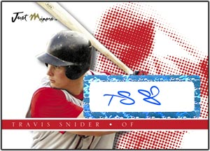 JAP08 White Auto (#'d to 200) Travis Snider