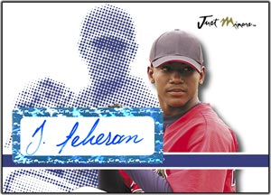 JAP08 White Auto (#'d to 200) Julio Teheran