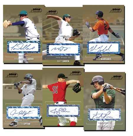 Just Limited Update 2006 25-card Gold Autograph Set