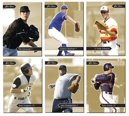Just Rookies 2006 50-card Gold Parallel Set