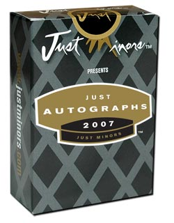 Just Autographs 2007 Factory Set