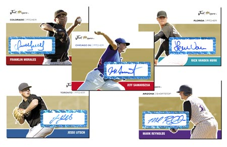 Just Autographs 2007 50-card Gold Autograph Set (+3 bonus cards)