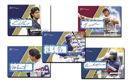 Just Autographs Preview 2007 23-card Gold Autograph Set