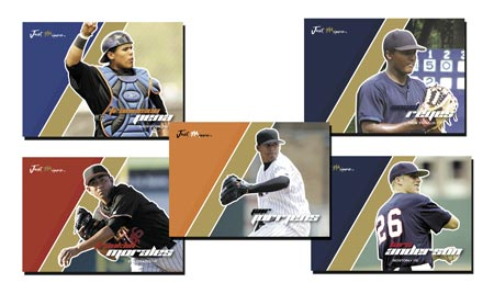 Just Autographs Preview 2007 23-card Gold Parallel Set