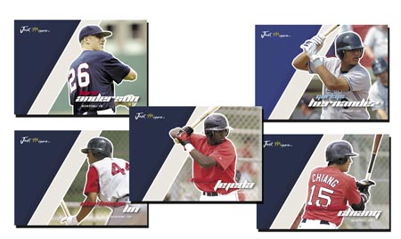Just Autographs Preview 2007 23-card Base Set