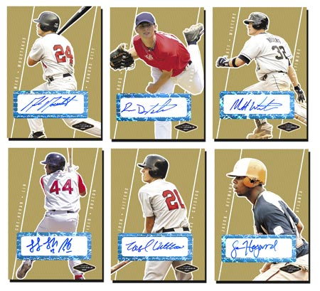 Justifiable 2007 50-card Gold Autograph Set
