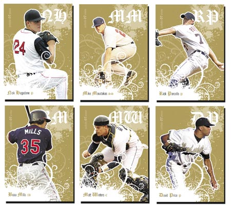Justifiable Preview 2007 20-card Gold Parallel Set