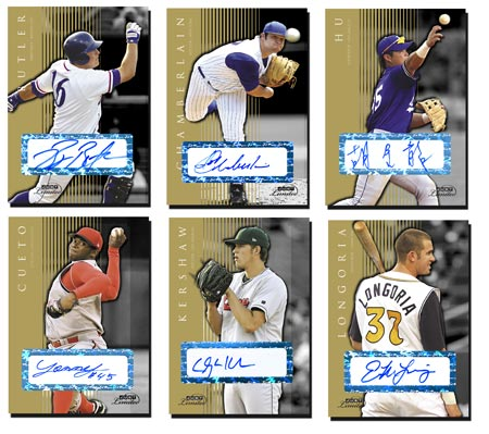 Just Limited 2007 25-card Gold Autograph Set