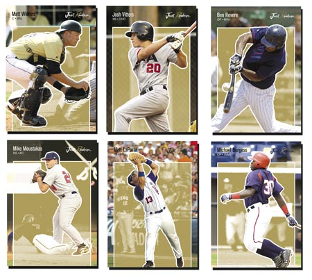 Just Rookies 2007 65-card Gold Parallel Set