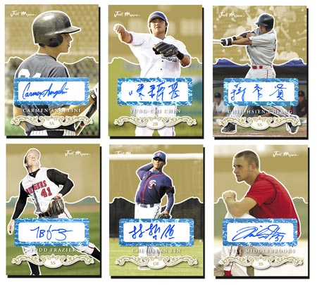 Just Rookies Preview 2007 15-card Gold Autograph Set