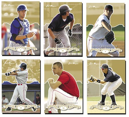 Just Rookies Preview 2007 15-card Gold Parallel Set