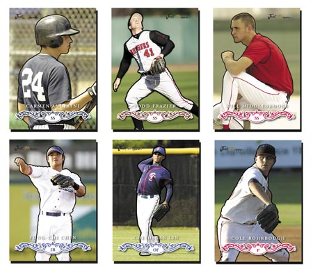 Just Rookies Preview 2007 15-card Base Set