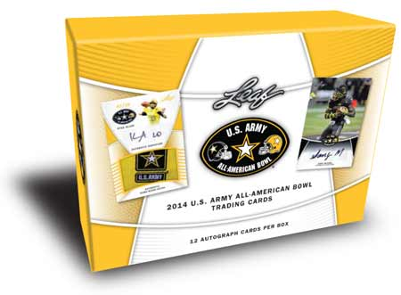 2014 Leaf U.S. Army All-American Bowl Football Box (12 Autos)