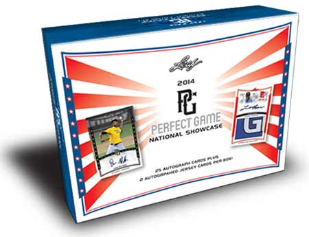 2014 Leaf Perfect Game Baseball Hobby Box (25 Autograph Cards - no packs!)
