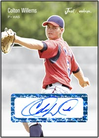 JRP06 White Auto (#'d to 200) Colton Willems