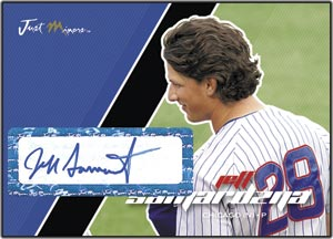 JAP07 Black Auto (#'d to 25) Jeff Samardzija