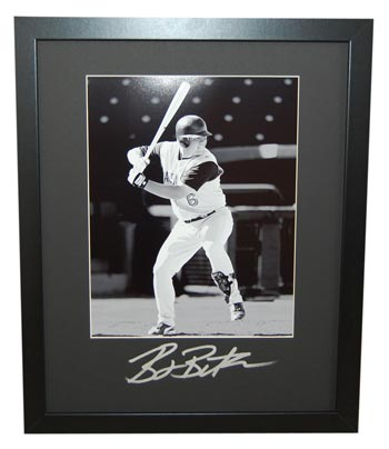 Billy Butler Autographed 16x20 Frame Mat (frame optional)